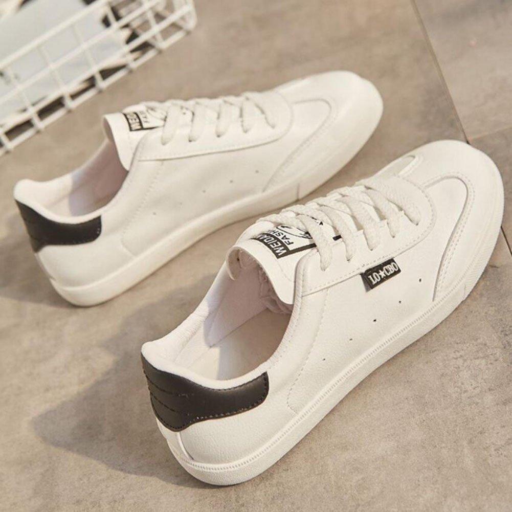 GAOLIXIA Damenschuhe Turnschuhe Hilfe Freizeitschuhe Niedrig Hilfe Turnschuhe Flache Schuhe Weiß Grün Schwarz 76b00d