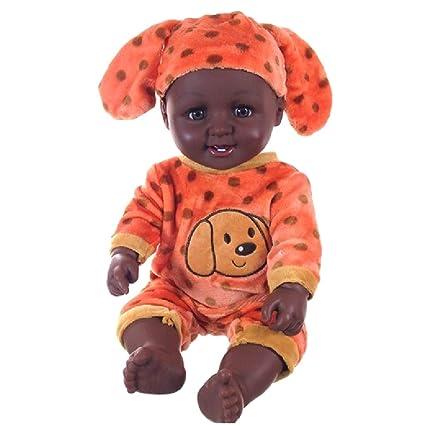 Amazon.es: Baoblaze 20 Pulgadas Modelismo Africano Muñeco ...