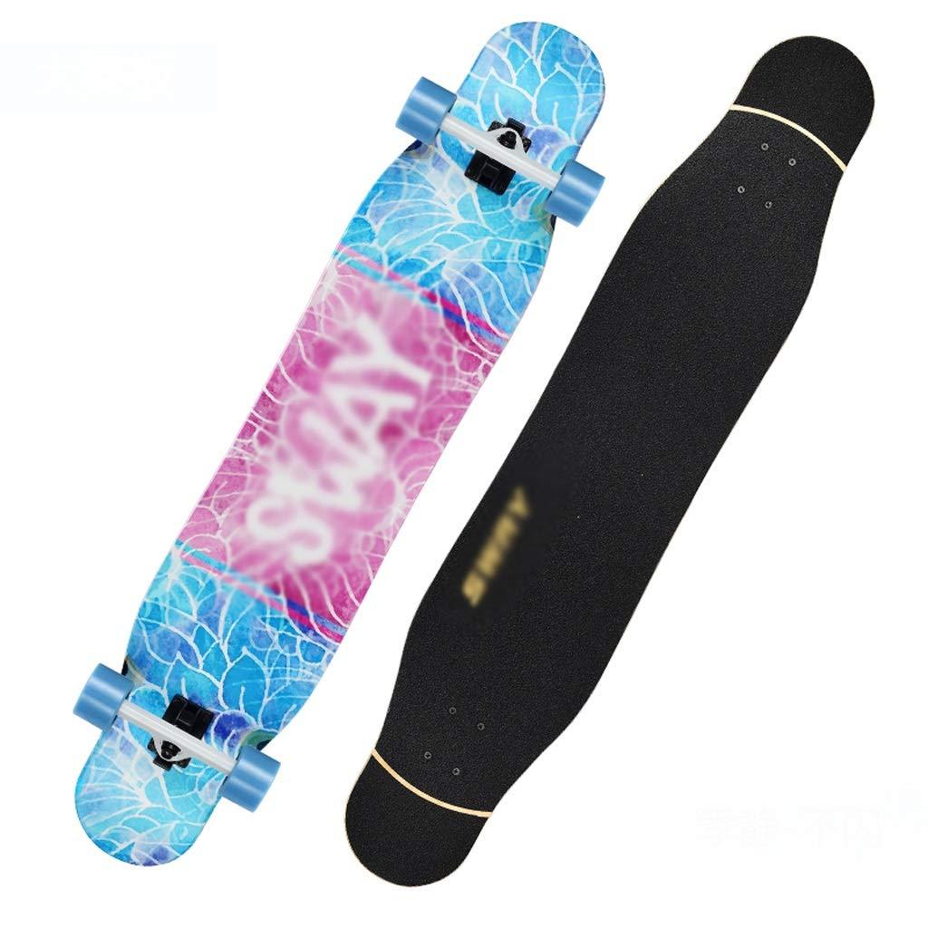 本店は DUWEN B07PGLV13H A スケートボードメープルロングボード初心者男の子と女の子プロのスケートボードティーンブラシストリートダンスボード四輪スクーター (色 : C) C) B07PGLV13H A A, ZeeShop:04d93513 --- quiltersinfo.yarnslave.com