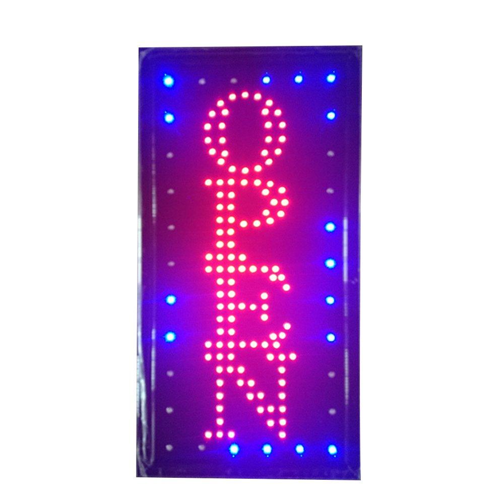 RongZhan Signo Luces de Neon LED Animado Abierto Clientes ...