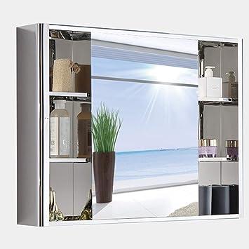 Amazon.com: Armario espejo espejo de acero inoxidable ...