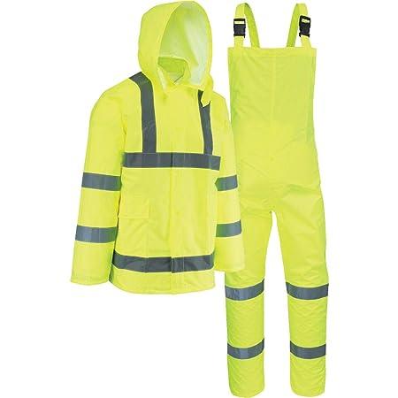 Amazon.com: WEST CHESTER Unisex Adult Ansi Class 3 Rain suit ...