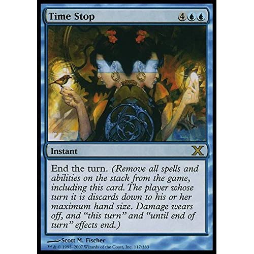 Magic: the Gathering - Time Stop (117/383) - Tenth Edition