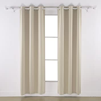 Curtains Ideas 86 inch curtain panels : Amazon.com: Deconovo Room Darkening Thermal Insulated Blackout ...
