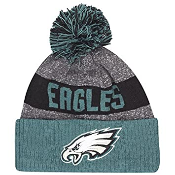 New Era NFL Sideline Bobble Knit 2016 Beanie (Philadelphia Eagles) by New  Era  Amazon.co.uk  Sports   Outdoors 105ba1f02b4