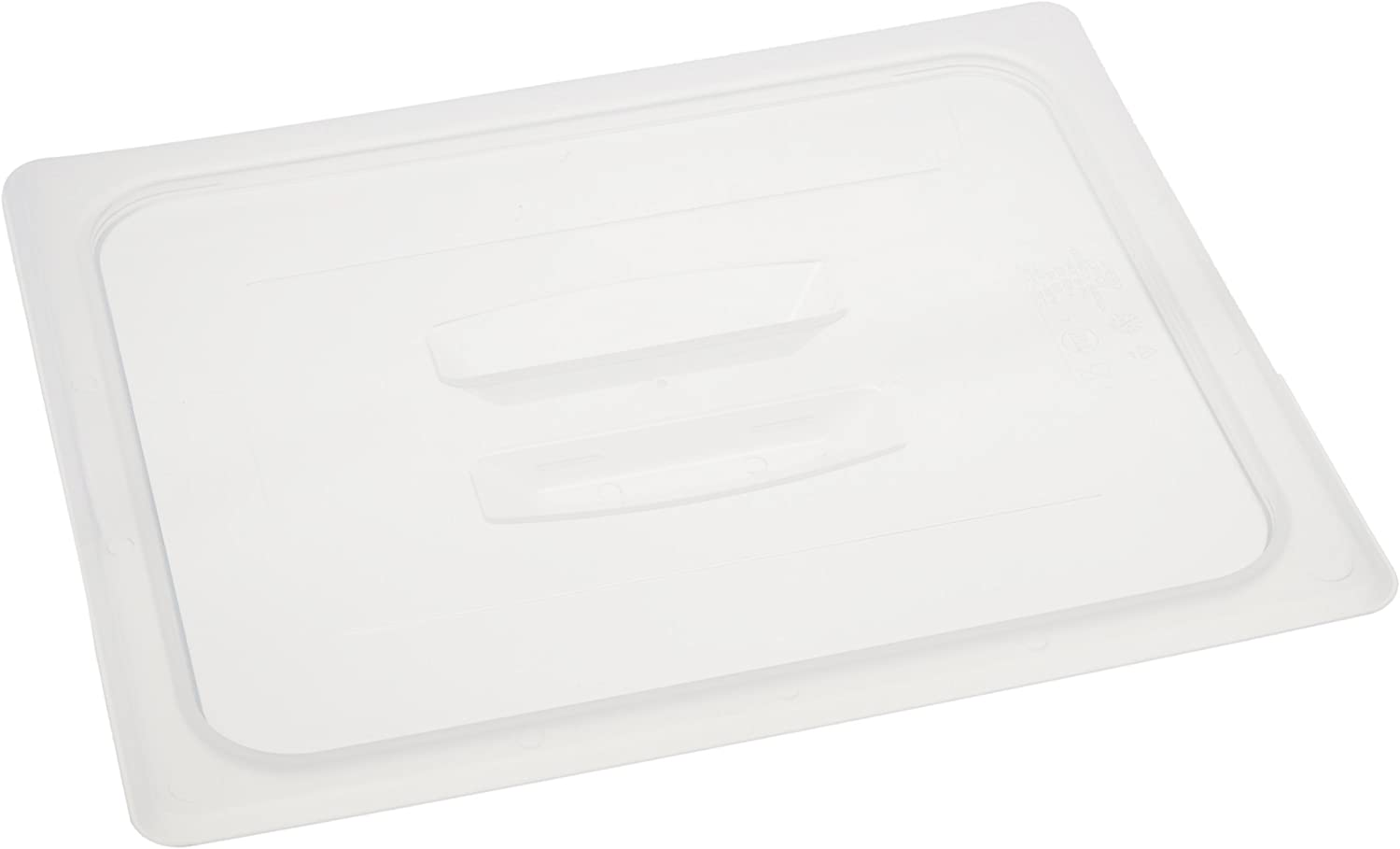 Cambro 20PPCH190 1/2 Size Food Pan Cover, Translucent