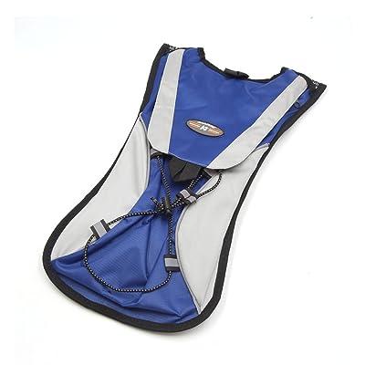 sourcingmap Sports plein air gris bleu Sac à dos Hydratation Sac eau Vélo Vessie