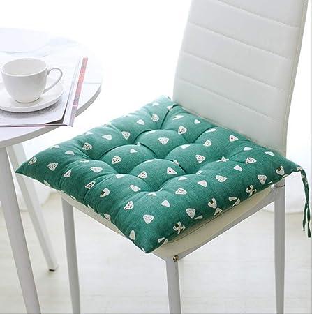 DYB&home Set di 4 Cuscino per Sedia Pavimento Seduta