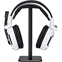 Headphone Stand Headset Holder, Proxima Direct Earphone Stand with Aluminum Supporting Bar Flexible Headrest ABS Solid…