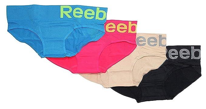 bbdd7b4703b9 Reebok Ladies Performance Seamless Hipster - 4 Pack at Amazon Women's  Clothing store: