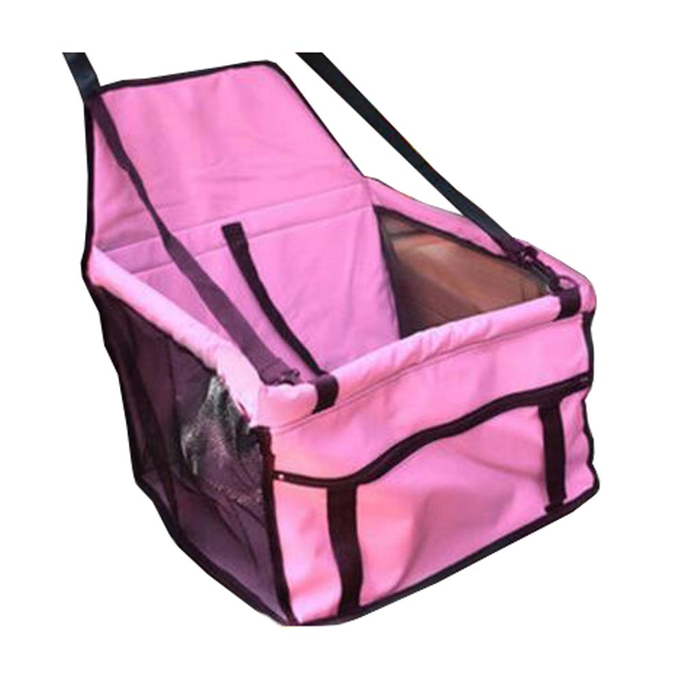 Pet Car Seat Cover Safety Seats for Pets Dog Car Mat-Pink