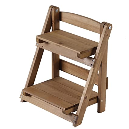 Wooden Ladder Shelf Teckpeak Wooden Plant Stands Indoor Plant Ladder Stand Small Wooden Ladder Shelf