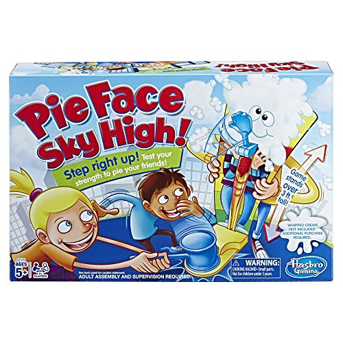 Pie Face Sky High Game - Hasbro Plates