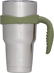 Grab Life Outdoors - Handle For YETI Rambler 30 Oz Tumbler Cup - Fits Ozark Trail, RTIC & more - (Handle Only) (Hunter Green)