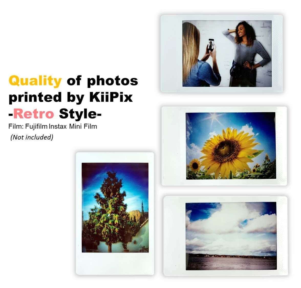 kiipix e72754 Impresora fotográfica Color 1 PPM Negro: Amazon.es: Informática