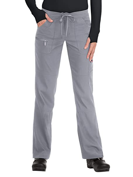 1e39fc90c1e KOI Womens Moisture Wicking Shadow Stripe Scrub Pants: Amazon.ca ...