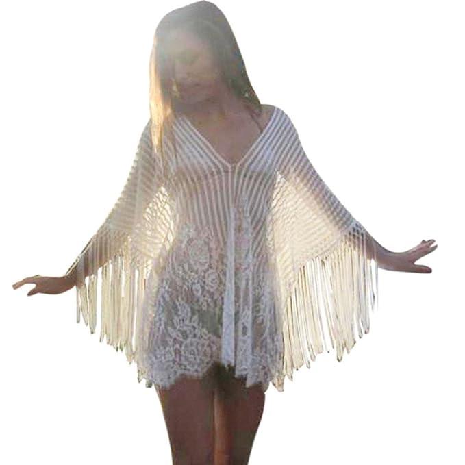 909b60122437 beautyjourney Copricostume mare donna lungo abito donna lungo da donna  pizzo elegante vestiti lunghi spiaggia vestito