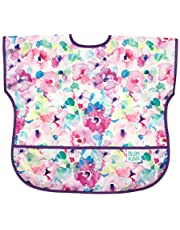 Bumkins Junior Bib, Short Sleeve Toddler Bib, Smock, Waterproof, Washable, Stain and Odor Resistant