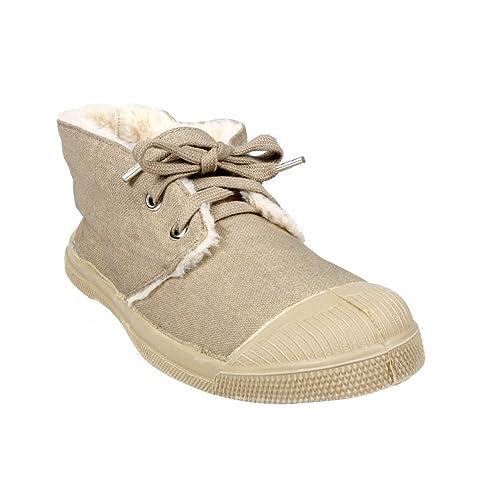 Bensimon - Zapatillas de Deporte de Lona Mujer, Beige (Beige), 39: Amazon.es: Zapatos y complementos