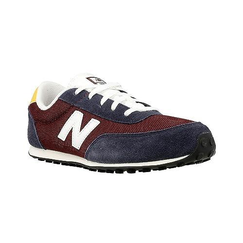Zapatos grises Skechers para hombre New Balance - M 07 - KL410VBY - Color: Azul marino-Rojo burdeos - Size: 38.5  39 EU Zapatos formales Piesanto para mujer 964bf8nkjP