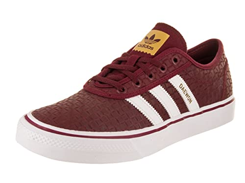 adidas Men s Adi-Ease Burgundy White Gold Skate Shoe 13 Men US ... c5d2b2057