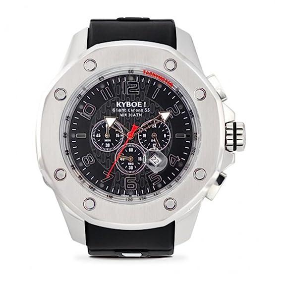 KYBOE! Silver Stone Port Collection horloge KPS-55-001