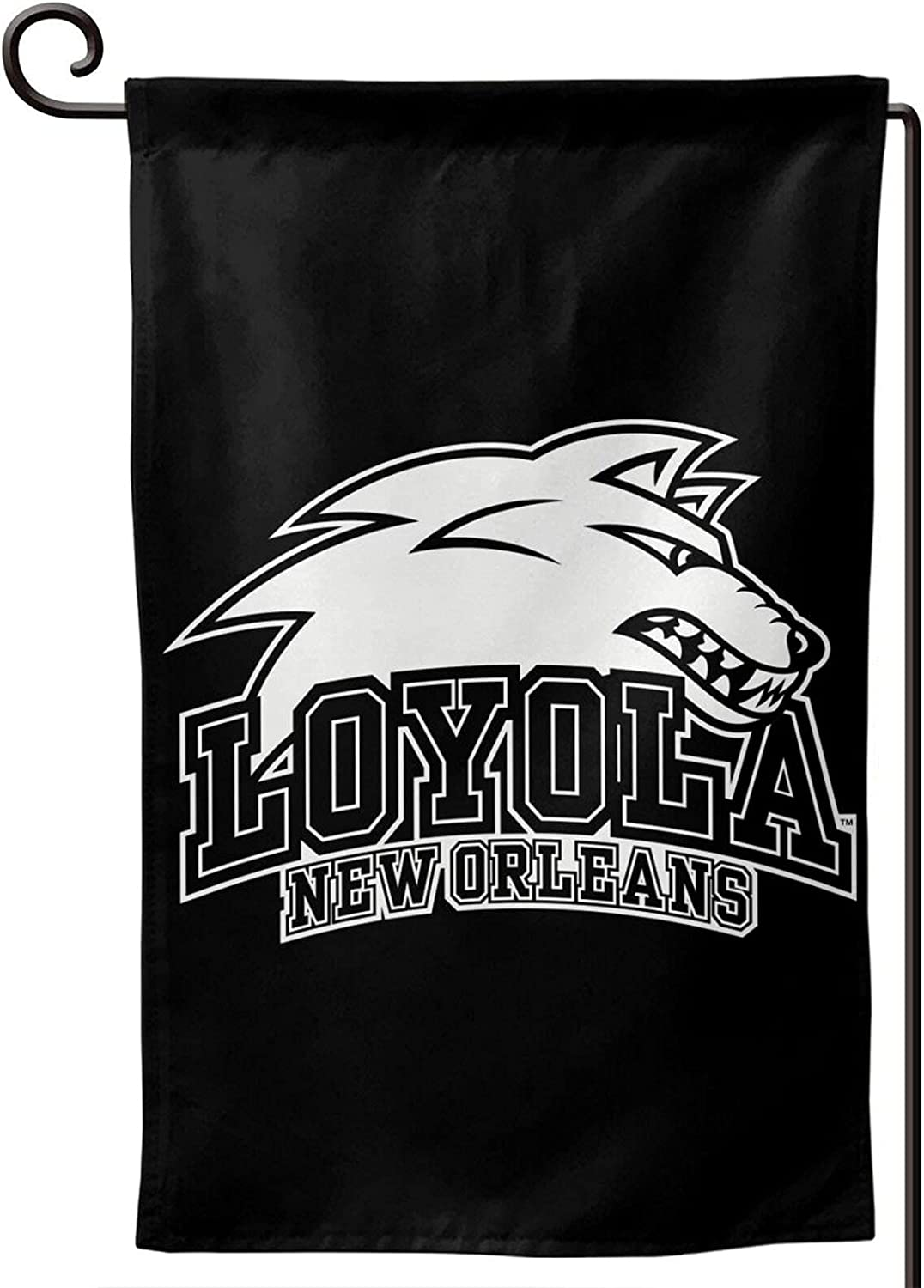 Loyola University New Orleans Logo 12.5 X 18 Inch Garden Flag Vertical Double-Sided Welcome Courtyard Outdoor Decoration