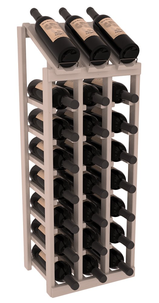Wine Racks America Ponderosa Pine 3 Column 8 Row Display Top Kit. 13 Stains to Choose From! by Wine Racks America (Image #1)