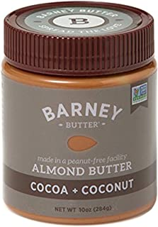 product image for BARNEY Almond Butter, Cocoa + Coconut, No Stir, Non-GMO, Gluten-Free, Skin-Free, Paleo Friendly, KETO, 10 Ounce