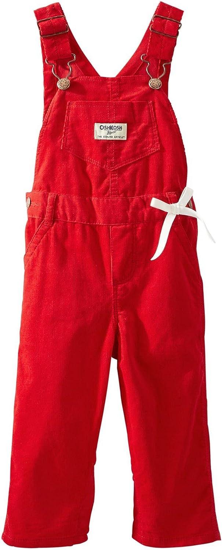 24 Months OshKosh BGosh Baby Girls Overalls - Red Baby