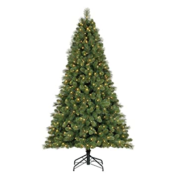 Image Unavailable - Amazon.com: Home Heritage 7 Foot Cascade Mixed Pine Christmas Tree