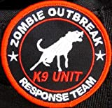 Zombie Outbreak Response Team K9 Patch