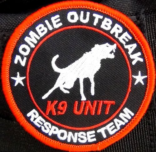 Zombie Outbreak Response Team K9 Patch ()