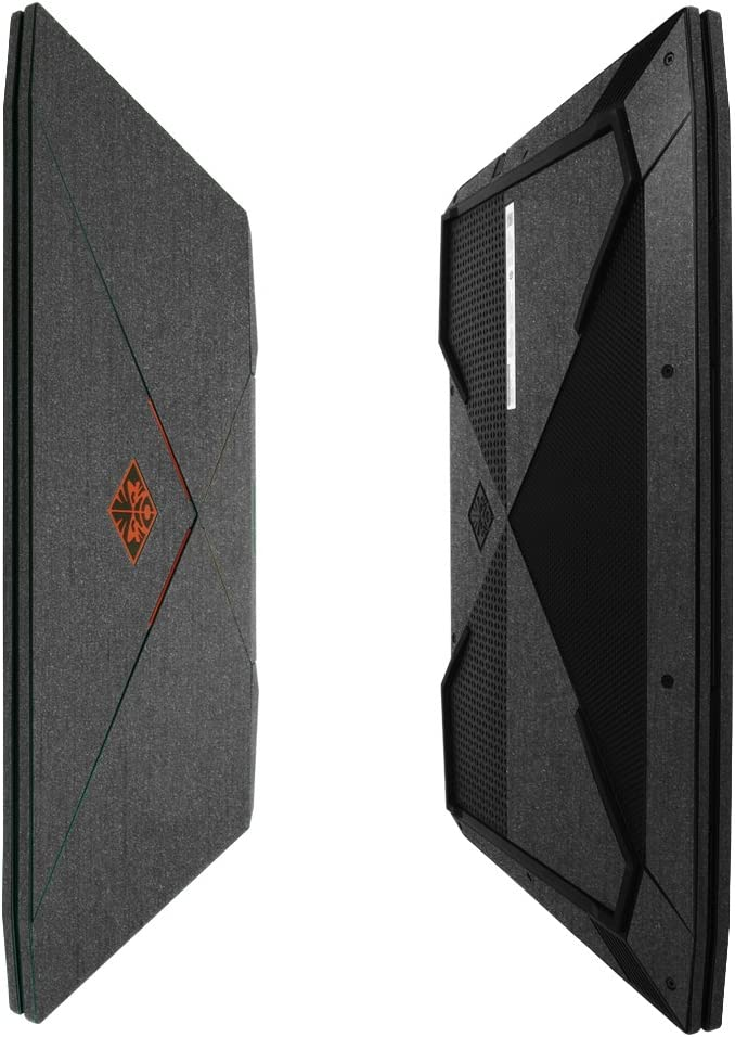 Skinomi Brushed Steel Full Body Skin Compatible with HP Omen (15-CE011DX)(Full Coverage) TechSkin Anti-Bubble Film