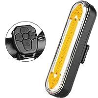 Wasserdichte 5 LED Fahrrad Licht Sicherheit Rücklicht Heckwarnlampe
