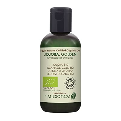 Naissance Jojoba Dorada BIO - Aceite Vegetal Prensado en Frío 100% Puro - 100ml