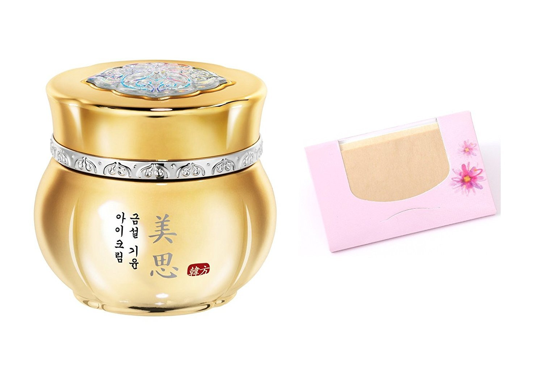 Missha Gumsul Giyoon Eye Cream 30ml + SoltreeBundle Natural Hemp Paper 50pcs
