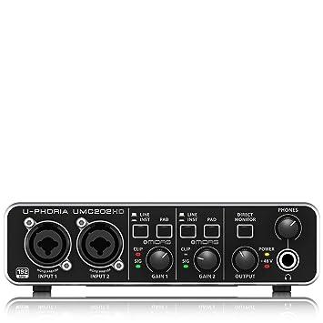 Amazon.com: Behringer U-Phoria UMC202HD: Musical Instruments