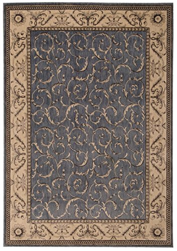 Nourison Traditional Rectangle Area Rug 3'6