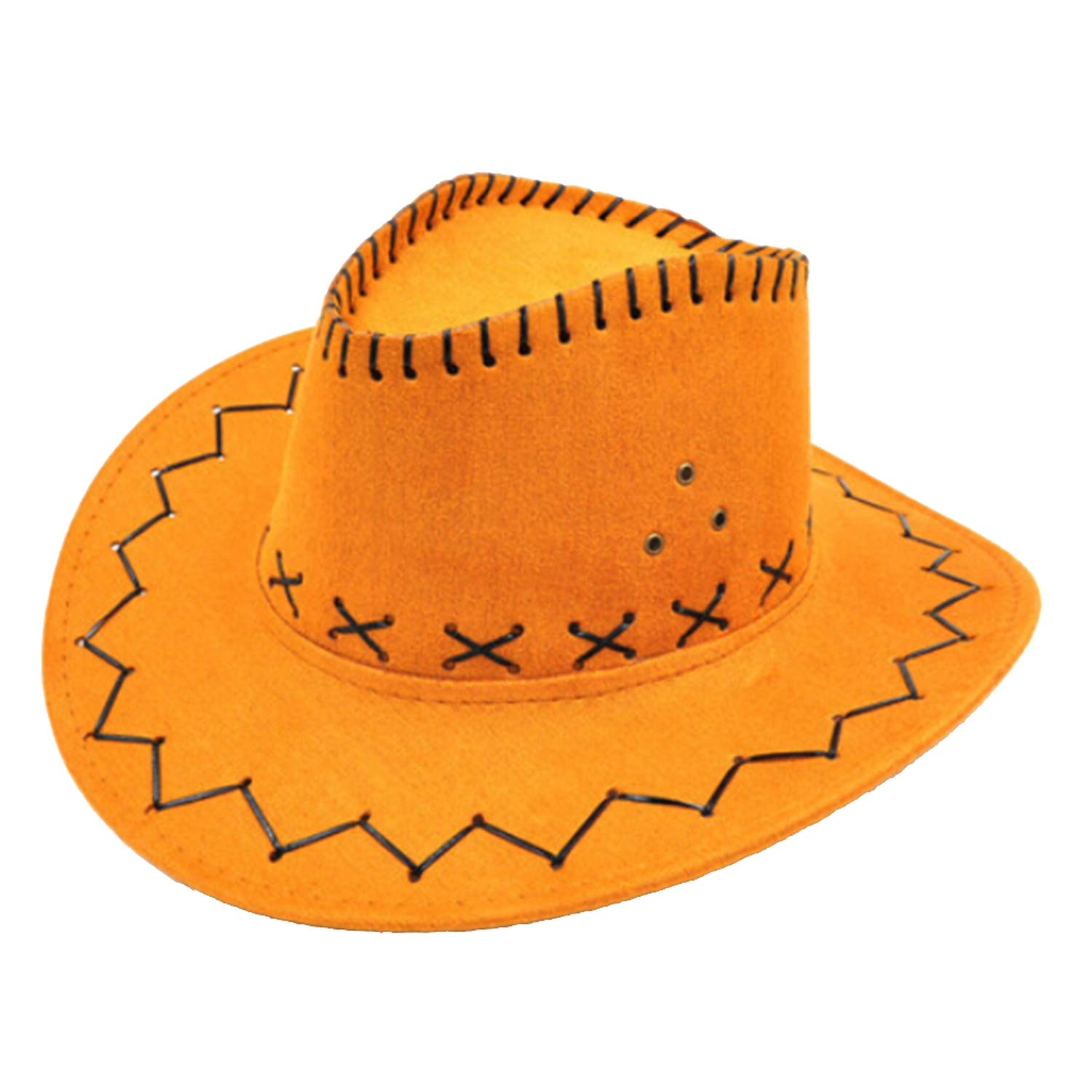 3d546cfe896fe0 Amazon.com: 1PC Children Kids Bull Rider Cowboy Cowgirl Western Travel  Summer Hat Sunhat Black: Clothing