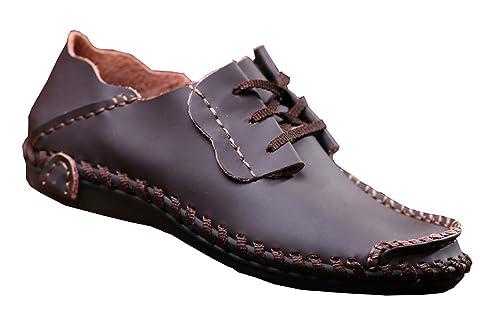 47184477e8f Men Leather Shoes Casual Fashion Shoes for Men Designer Shoes Casual  Breathable Big Size Mens Shoes