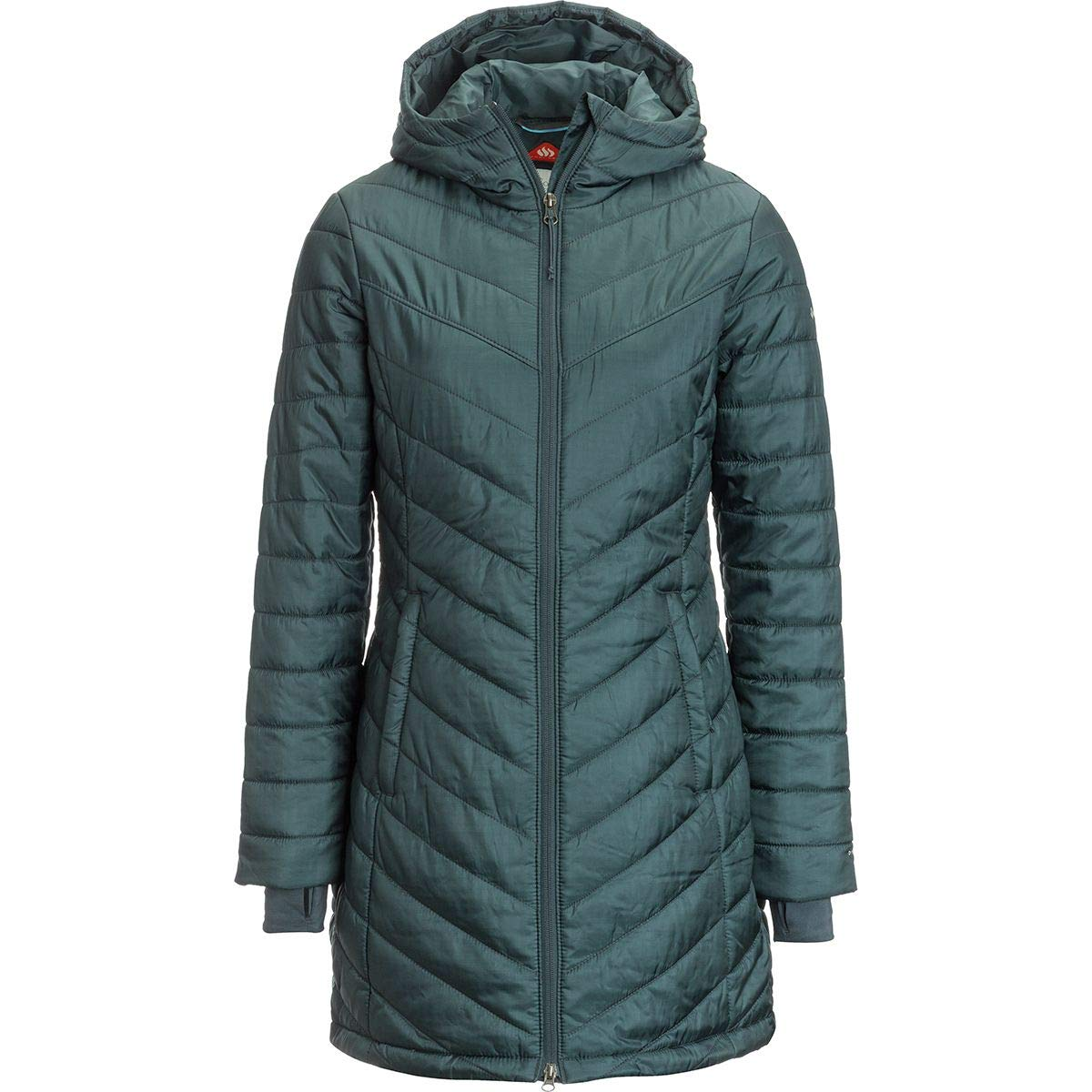 Amazon.com: Columbia Morning Light II Omni - Chaqueta larga ...