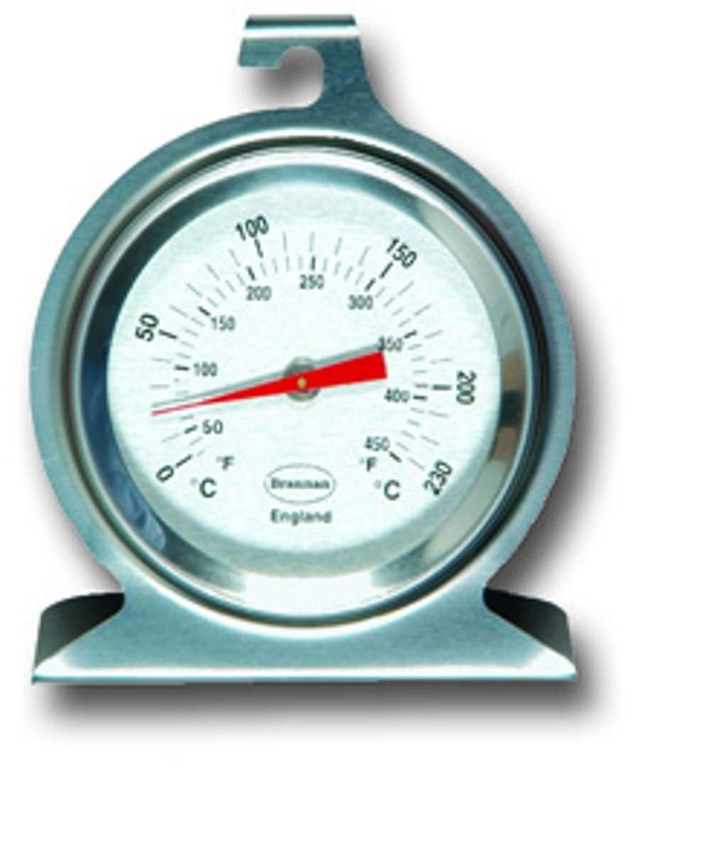 Brannan Classic Dial Oven Thermometer Stainless Steel