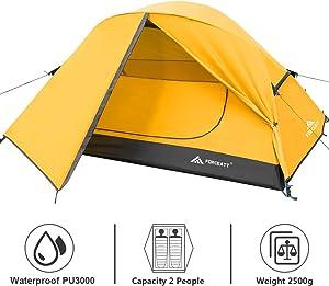 Best Budget Waterproof Backpacking Tent Forceatt Camping Tent