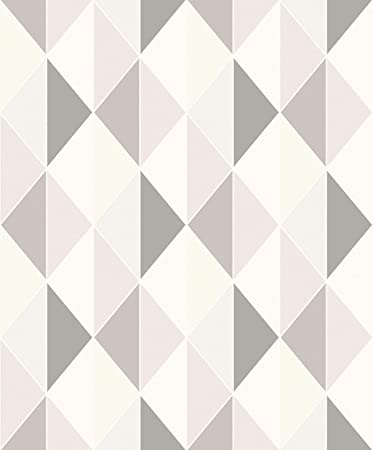 Grandeco Orion Triangle Geometric Shape Non-Woven Pastel Colour 3D Effect  Wallpaper ON3103: Amazon.co.uk: DIY & Tools