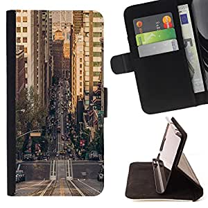 - California Summer Funny - - Style PU Leather Case Wallet Flip Stand Flap Closure Cover FOR HTC One M8 - Devil Case -