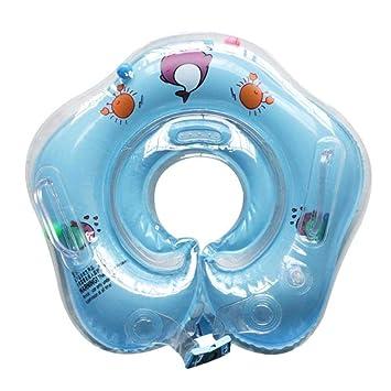 Cuello Anillo Tubo Seguridad Baño Flotador Círculo Inflable Agua ...