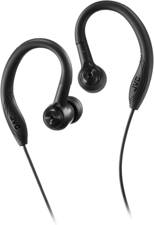 JVC Earclip Earbud Sport Earbud Earclip Black (HAEC10B) (HA-EC10B)
