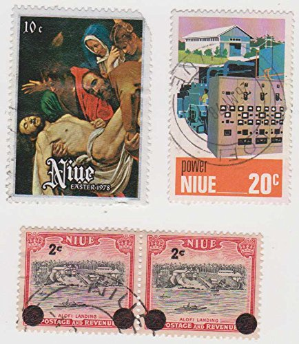 Cancelled Postage Stamps Of Niue