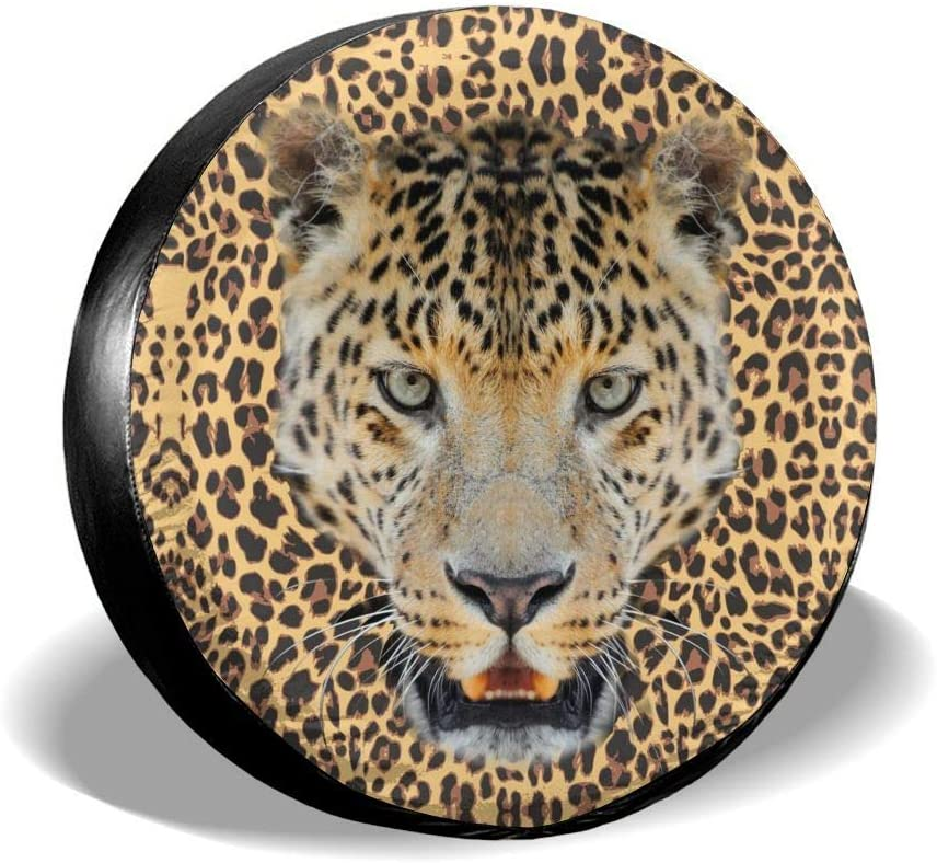 RV Foruidea Color Horse Spare Tire Cover Waterproof Dust-Proof UV Sun Wheel Tire Cover Fit for Jeep,Trailer SUV and Many Vehicle 15 Inch